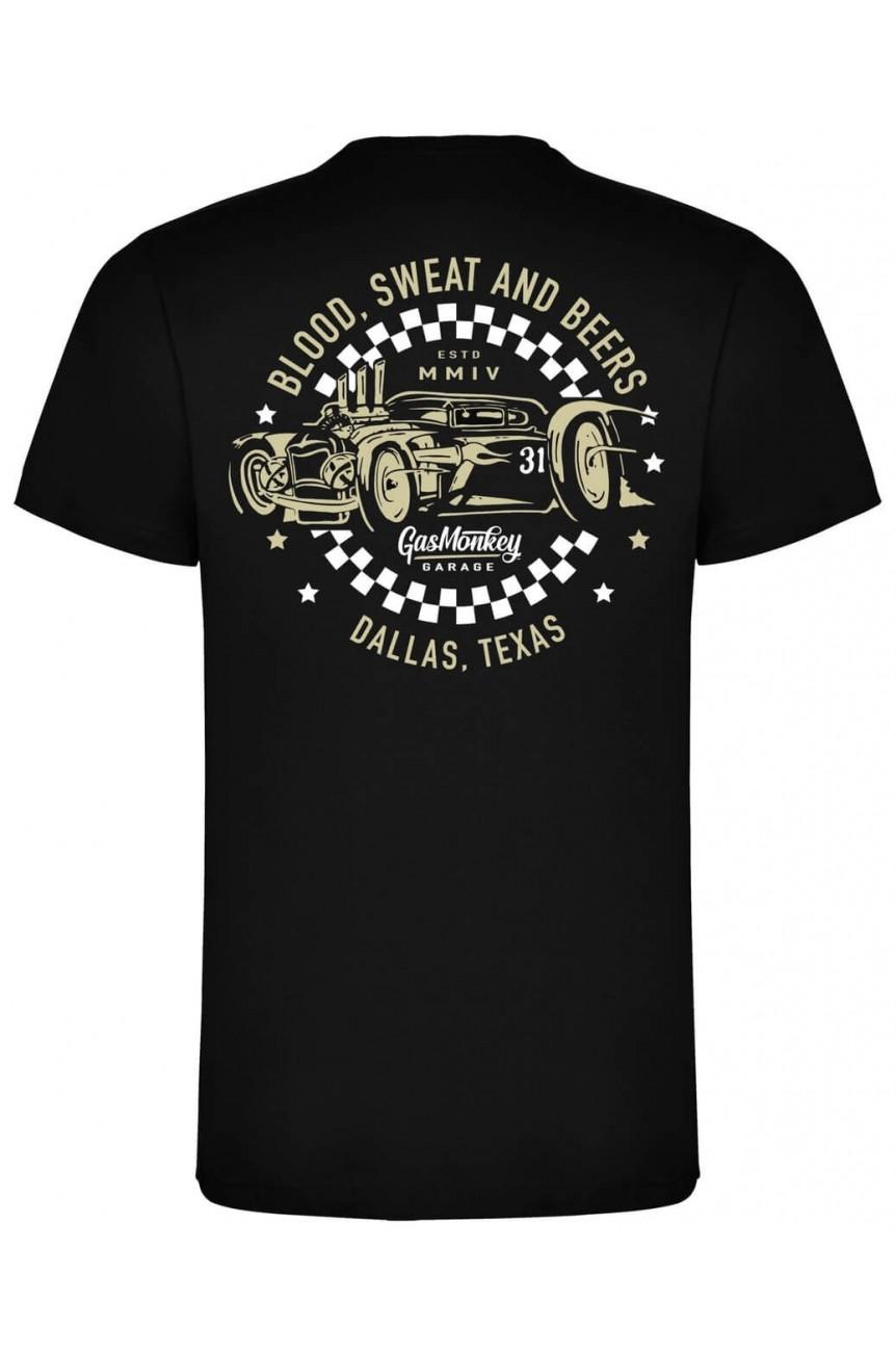 Tee shirt gas monkey garage hot rod