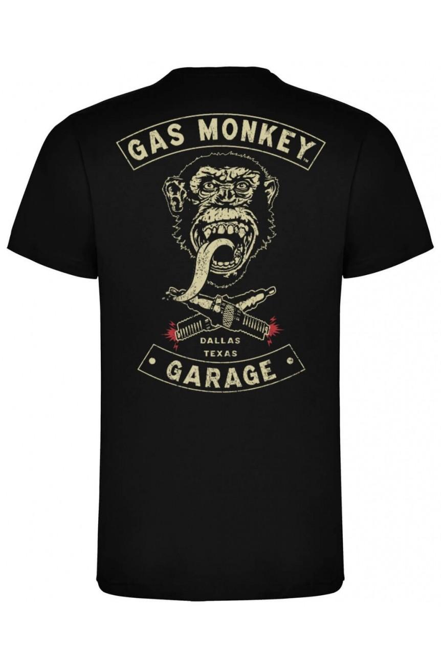 Tee shirt Gas monkey imprimé dos