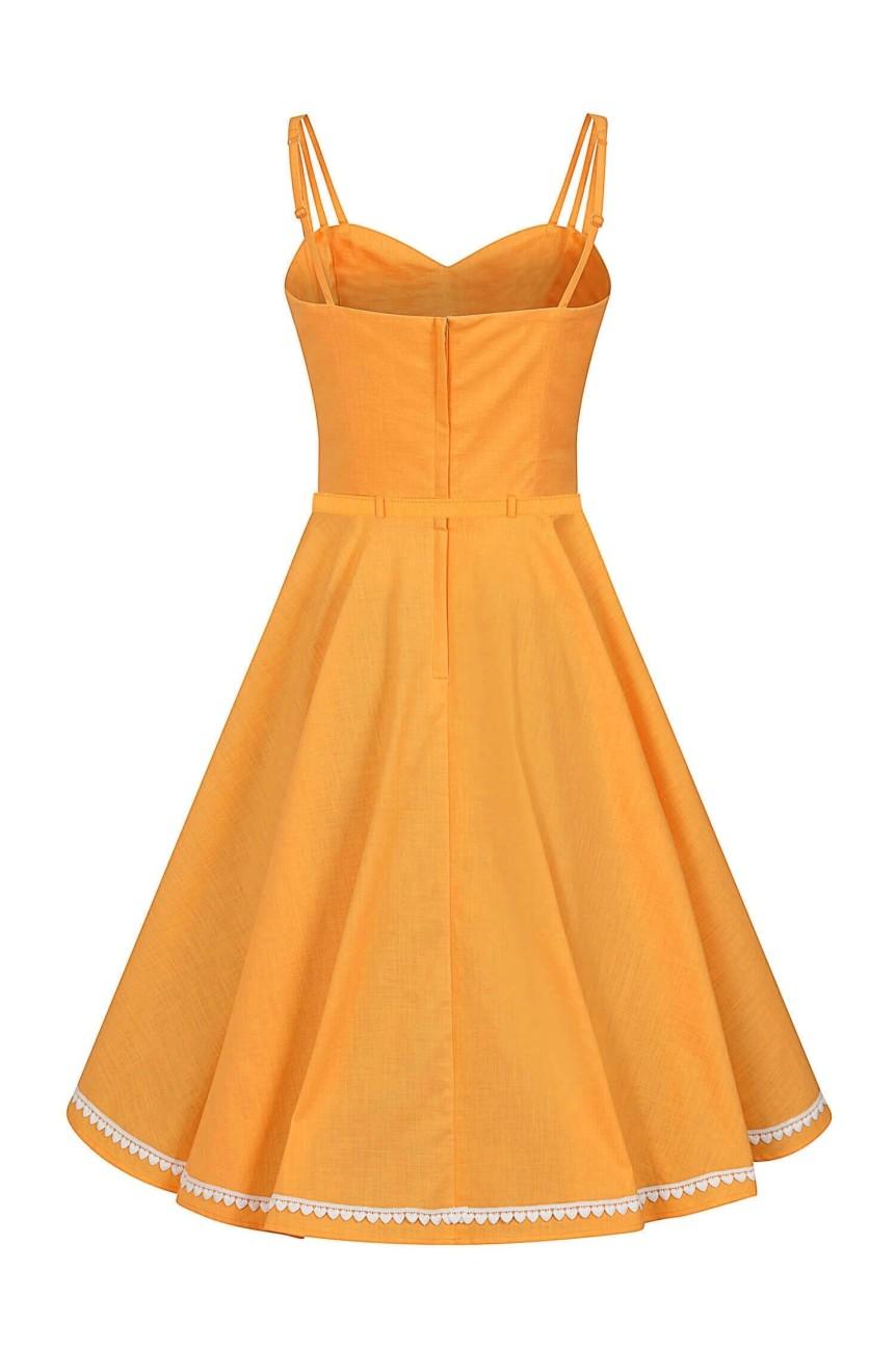 Robe lindy bop swing orange