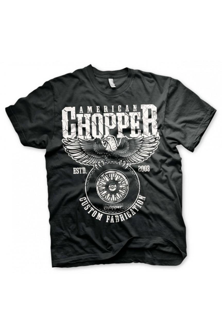 Tee shirt American chopper custom fabrication