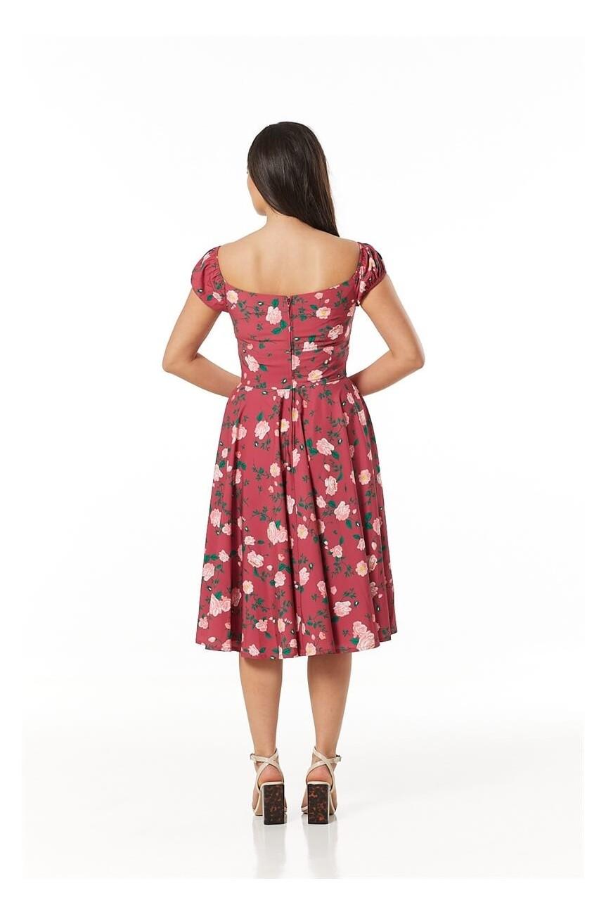 Robe rose dress timeless