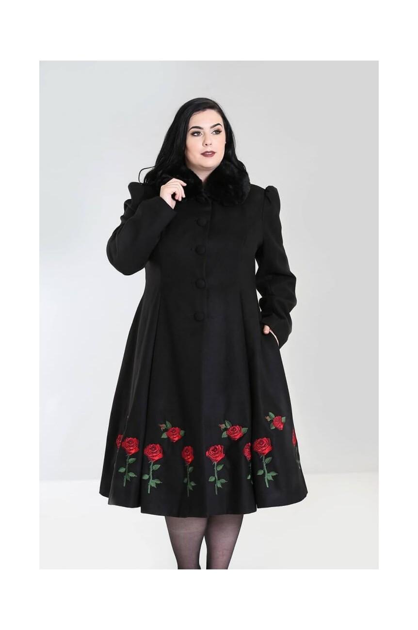 Hell Bunny manteau noir