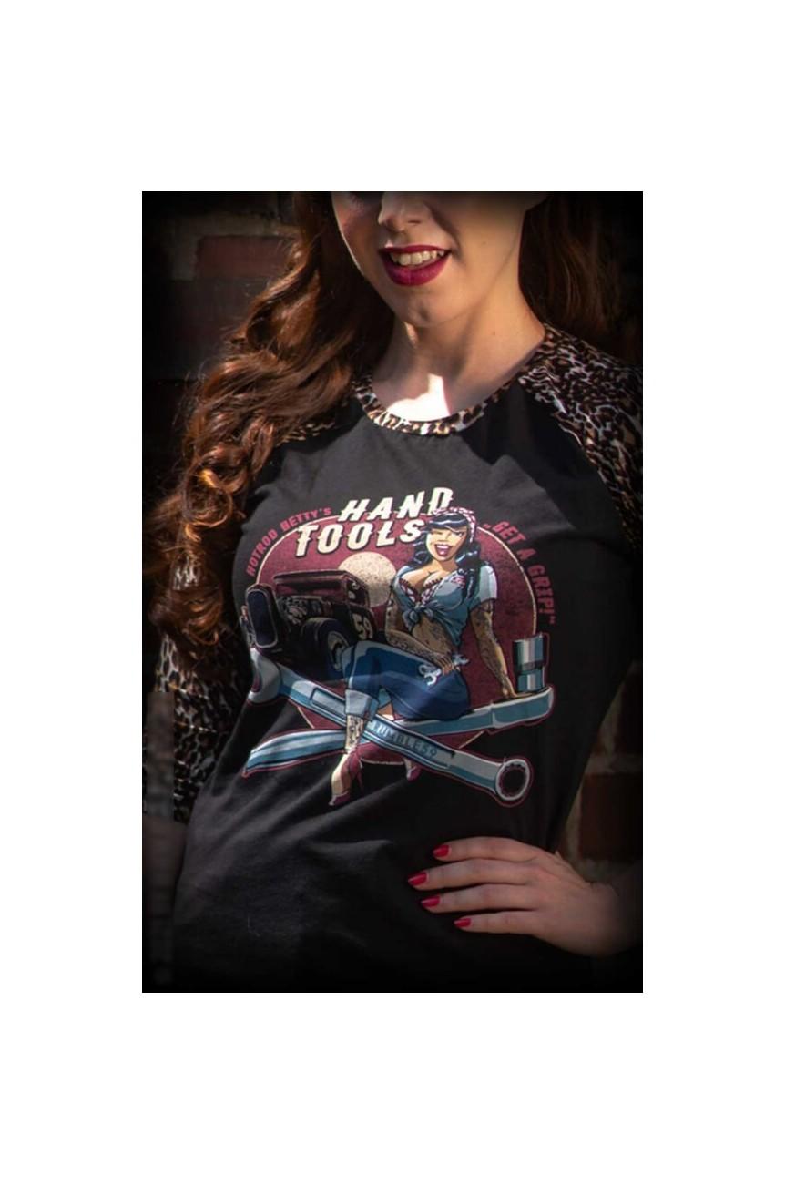 T-shirt femme garage Kustom Rumble 59