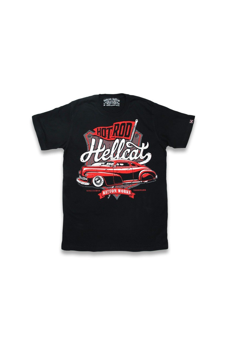 Tee shirt hot rod hellcat custom works
