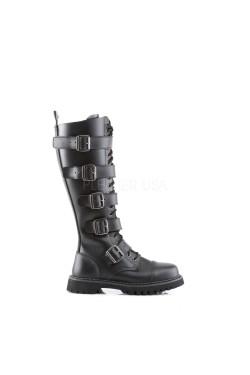 Chaussure coquée style rangers 20 trous et 5 sangles