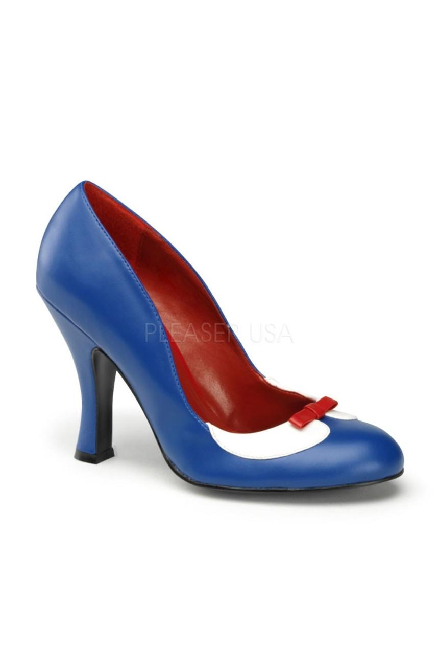 Chaussure pin up smitten 05 bleue