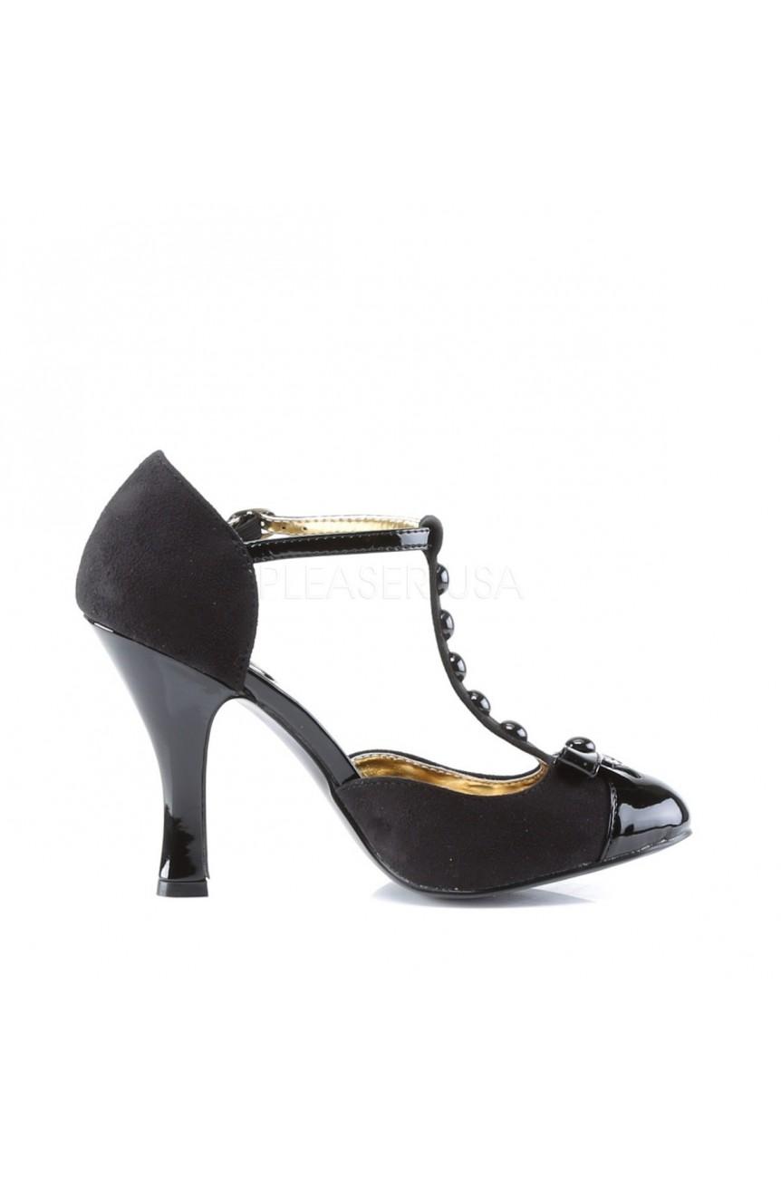 Chaussure pin up smitten 10 noire