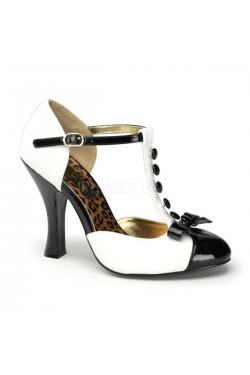 Chaussure pin up smitten 10 blanche