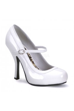 Chaussure pin-up Pretty 50 blanche