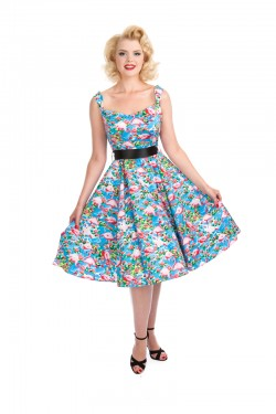 Robe vintage flamingo