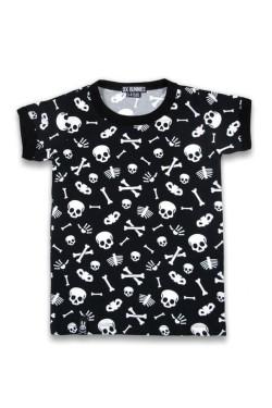 Tee shirt enfant tete de mort