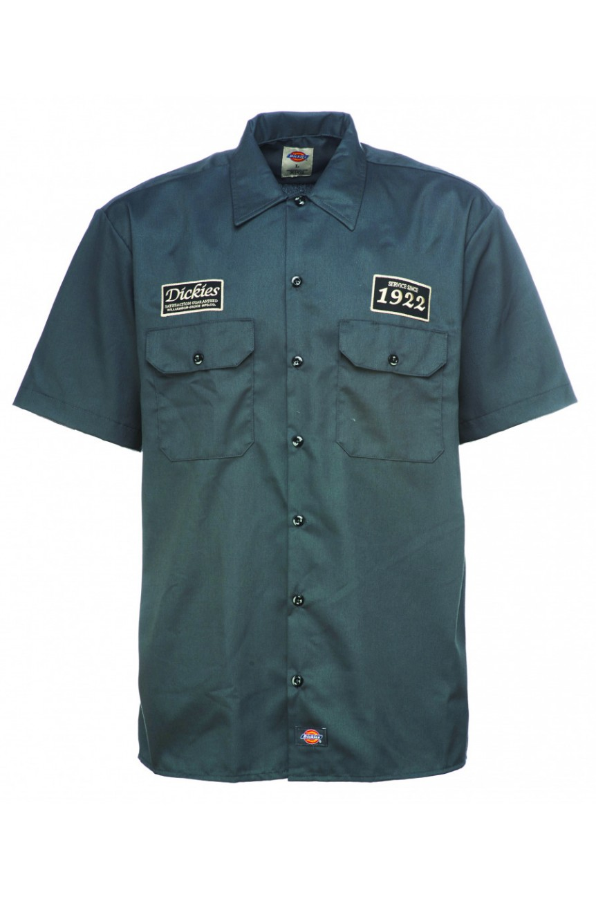 Chemise dickies grise avec patch