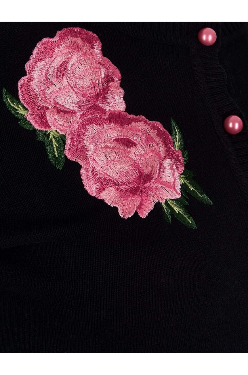 Cardigaan retro floral