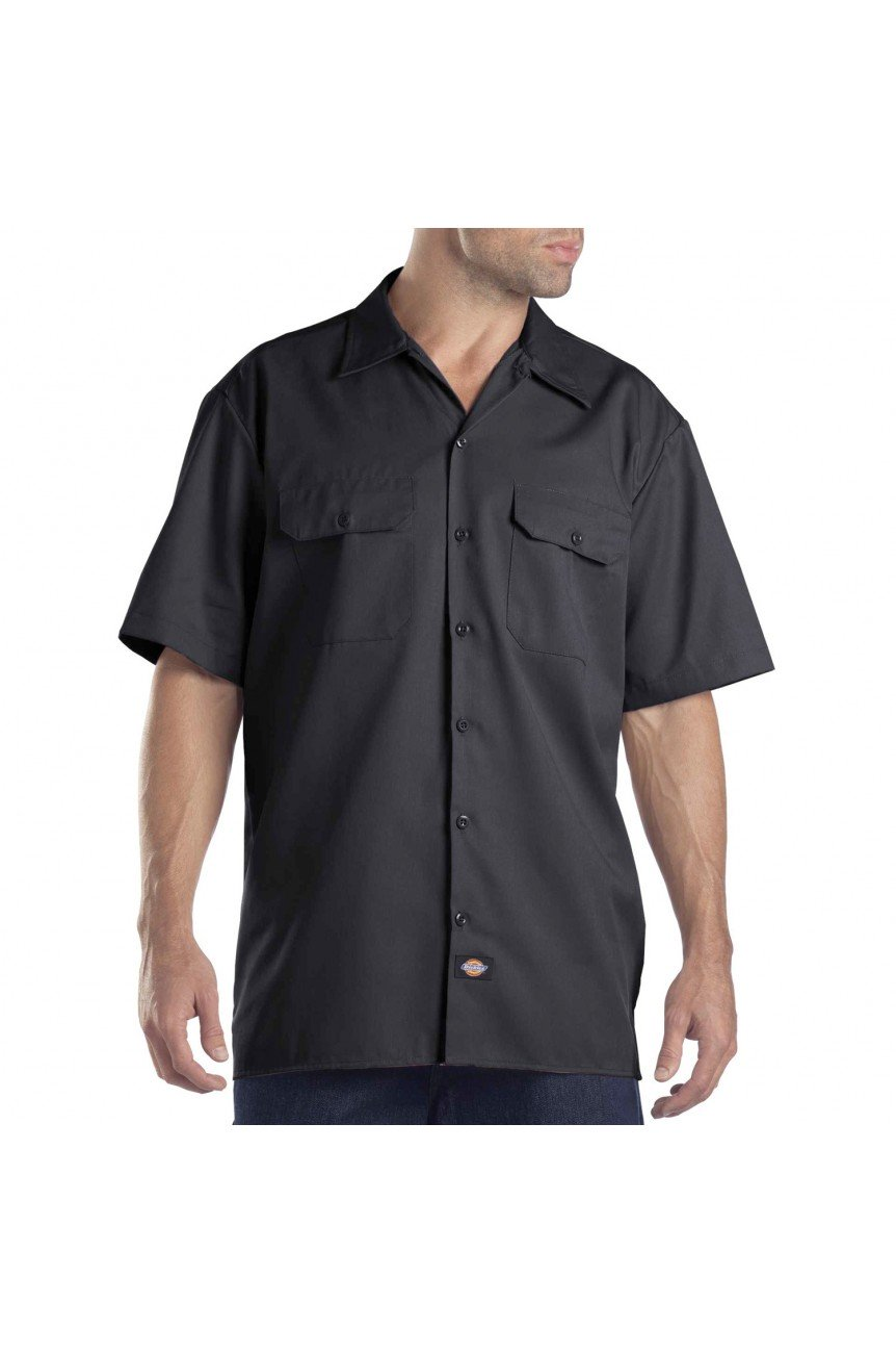 Chemise dickies poches plaquées