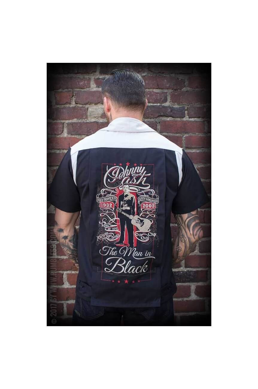 Chemise bowling Johnny Cash