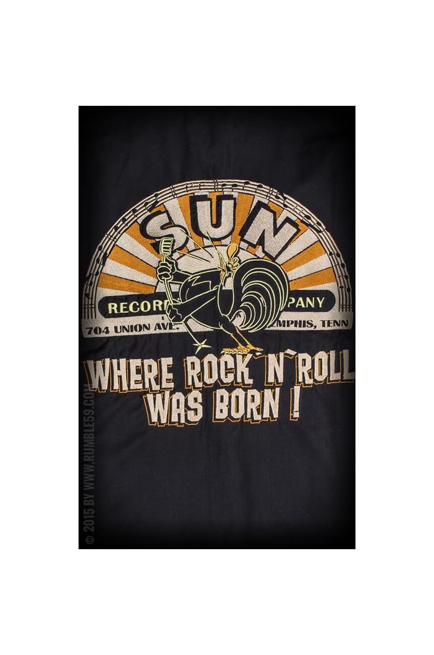 Chemise bowling sun records