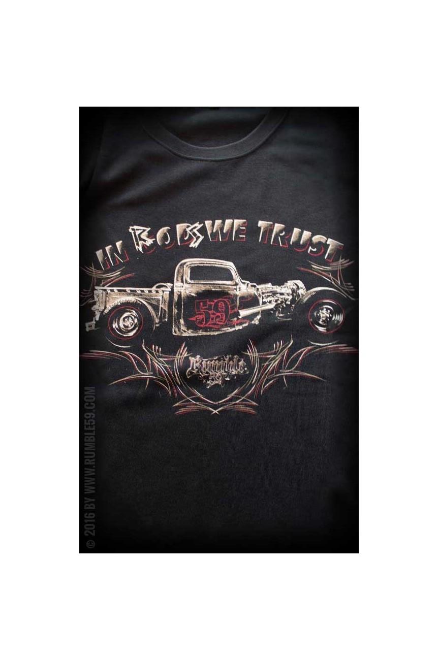 Tee shirt hot rod rumble59