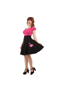 Jupe vintage flamingo collectif clothing