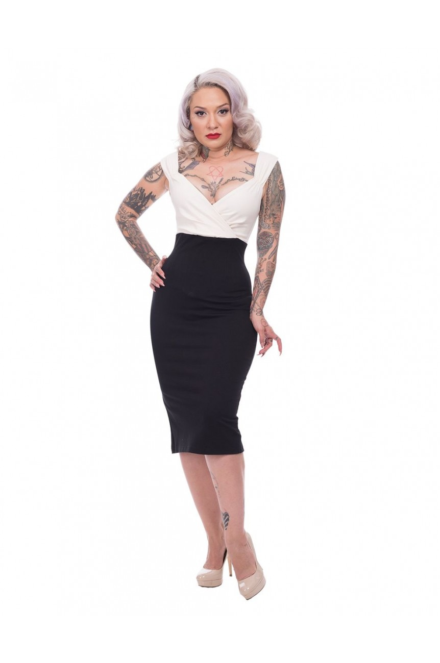 Robe rockabilly crayon