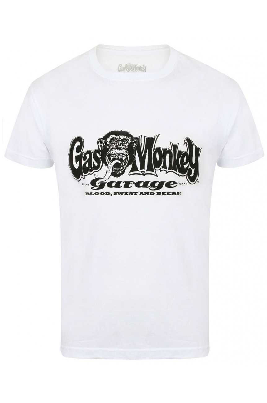 Tee shirt gas monkey OG logo