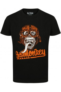 Tee shirt gas monkey garage goggle