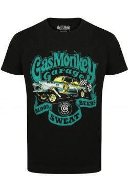 Tee shirt gas monkey garage Gasser