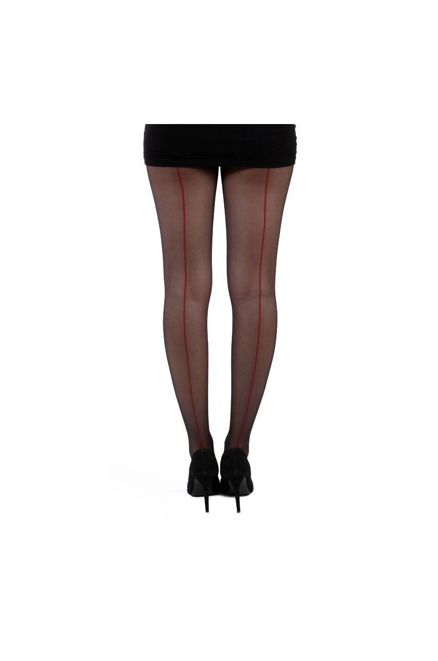 Collants retro avec liseret