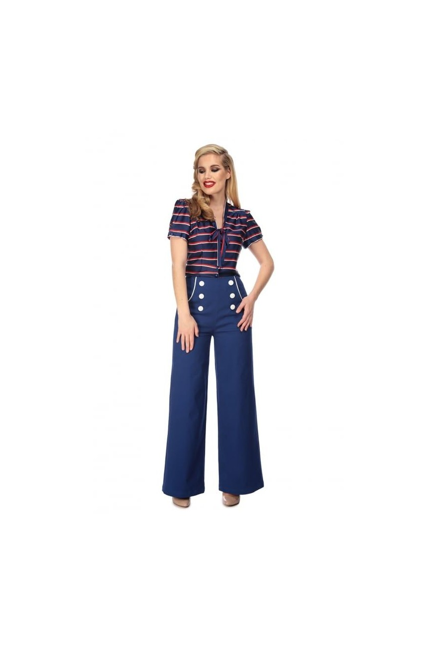 Pantalon vintage taille haute