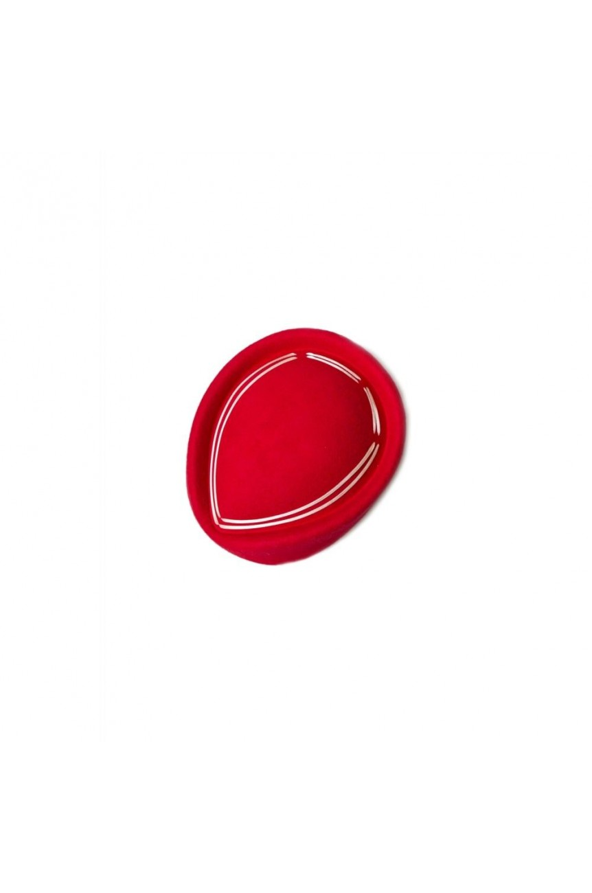 Chapeau pinup rouge vintage