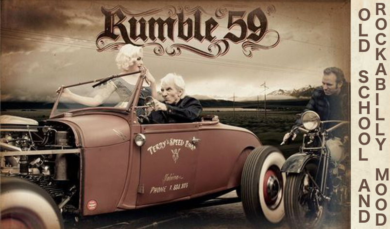 Rumble 59 vetements kustom et rockab