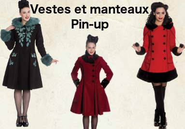 Vestes et manteaux pin-up